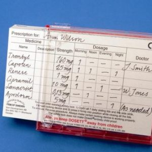 Dosett Maxi Prescription Cards